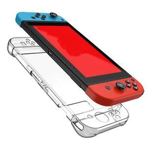 Image 5 - משחק קונסולת מחשב שקוף קריסטל מגן כיסוי מקרה עבור Nintendo מתג NS שקוף ללבוש עמיד ולכלוך עמיד