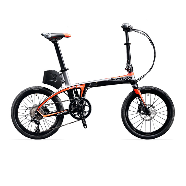 SAVA E6 Electric Bicycle Carbon Fiber 20