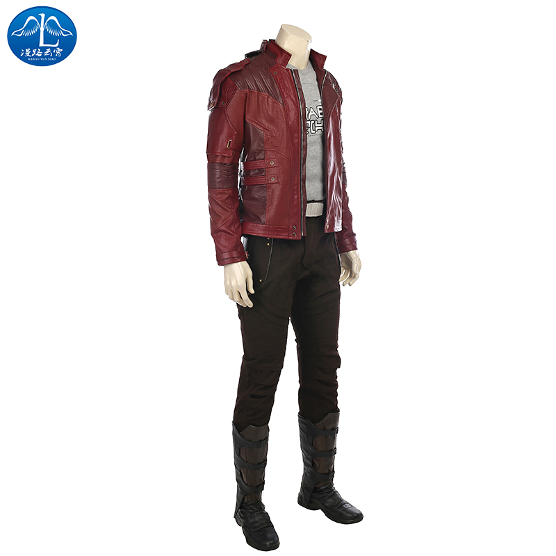 Star Lord Jacket short jacket cosplay Peter Jason Quil Halloween costume Guardians of the Galaxy 2 Star Lord cosplay costume