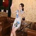 2016 Spring Summer Women Cheongsam Chinese Style Qipao Lady  Vestidos Female Evening Skirt & Wedding Party Cheongsam