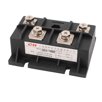 цена 200A 1600V Diode Module Single Phase Bridge Rectifier MDQ-200A онлайн в 2017 году