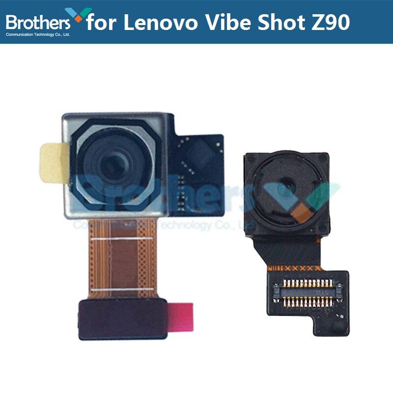 Back Rear Camera For Lenovo Vibe Shot Z90 Original Front Camera Flex Cable For Lenovo Z90a Z90-7 Z90-3 Replacement Parts Tested
