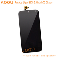 LCD Display For Acer Liquid Z630 Touch Screen Dightizer Assembly Replacement For Acer Liquid Z630 Mobile Phone Parts