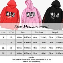 2018 Hot Sale Hip Hop Hoodies Sweatshirts Raper XXXTentacion Harajuku Men Cool Casual Print Autumn Plus Size