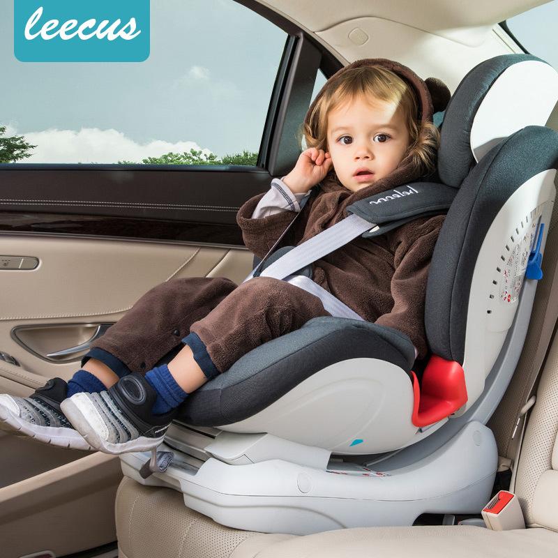 Baby safety seat car child safety seat 0-12 years old baby baby reclining isofix