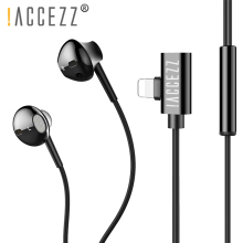 !ACCEZZ Stereo Wired Earphones Magnetic For iPhone 7 8 X Plus XS XR In-Ear Sports Earbuds 2 in 1 Music Charging Adapter Earphone
