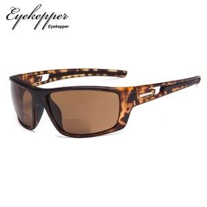 Image 5 - S066 Bifocal   Eyekepper Bifocal Sun Readers Reading Sunglasses for Sports TR90