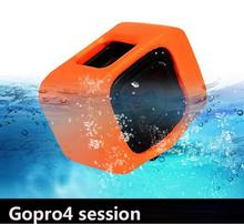 Go Pro Floaty Backdoor Cover Accessories For Sport Action Camera DV For Gopro Hero 4 Session Random Color