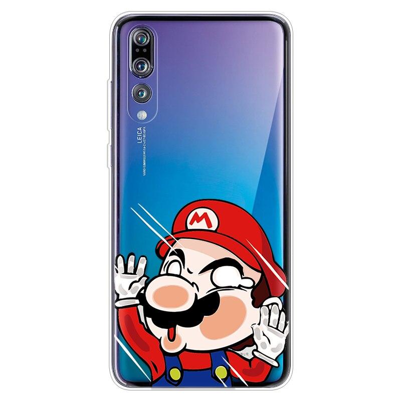 Capa For TPU Huawei P30 P20 Lite Pro Psmart P8 P9 P10 Plus Mini 2017 Mate S 10 Pro 20 Lite P Smart 2019 Cartoon Soft Fundas Case