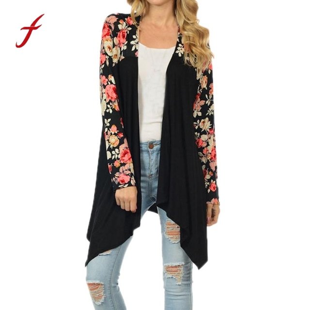 Aliexpress.com : Buy Feitong Fashion Boho Women Floral Kimono ...