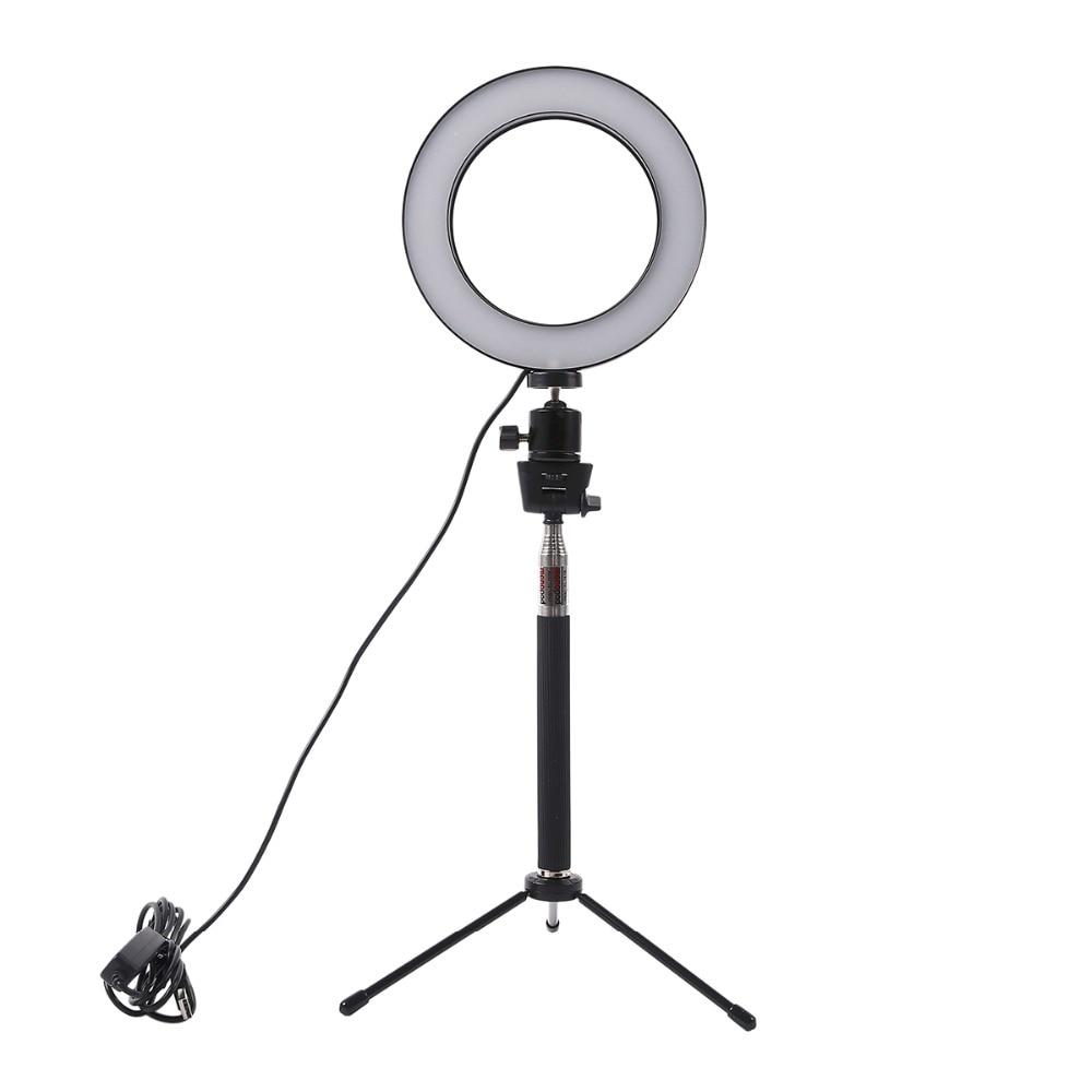 Led Studio Lights India: Dimmable LED Studio Camera Ring Light Photo Phone Video