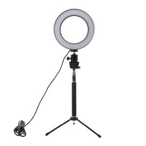 Photo Phone Video Light Lamp For Canon Nikon Dimmable LED Studio Camera Ring Light