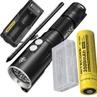 NITECORE DL10 Diving Flashlight XP L HI V3 LED MAX. 1000LM waterproof 30m diving light underwater torch + battery + charger