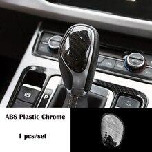 For Geely Atlas 2016 20172018 ABS Plastic Chrome Car Accessories car gear shift lever knob handle frame panel Cover Trim Sticker