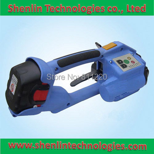 Battery strapping machine hand held electrical strapper tools equipment rechargeable 16mm ORT-200 manual packaging tool packer