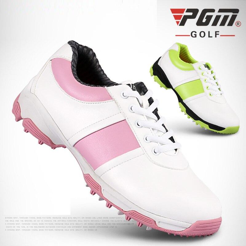 Brand PGM Adult Womens Ladies Girls Women Golf Sports Shoes Light & Steady & Waterproof & Anti-sideslip Technology for Steady