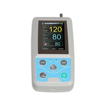 24 hours Ambulatory Blood Pressure Monitor Holter BP Monitor with software with Adult,Child,Large Adult Cuff 3