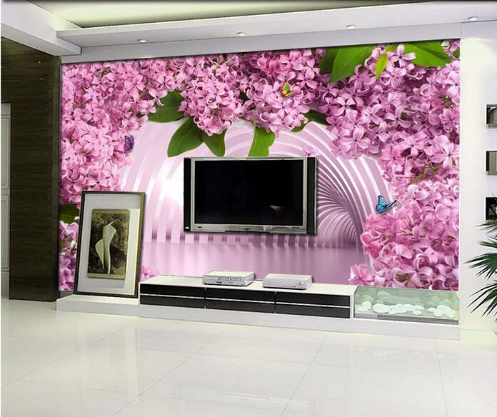 3d wallpaper custom mural non woven 3d room wallpaper 3 d space is ...