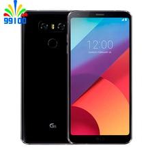Разблокированный мобильный телефон LG G6 H871/H872/H873 5,7 дюймов 4 Гб ОЗУ 32 Гб ПЗУ Snapdragon 821 двойная задняя камера LTE отпечаток пальца