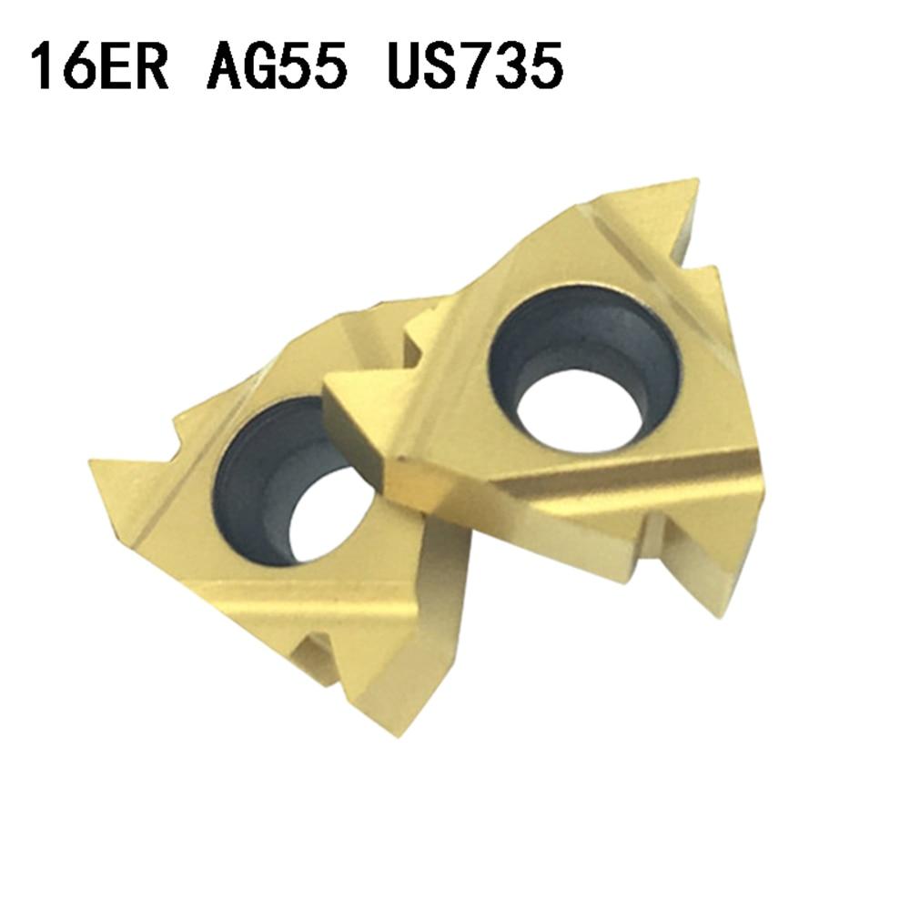 10p MMT 22ER N60 US735 3.5-6mm carbide thread insert 22ER N60 cnc tool CNC blade