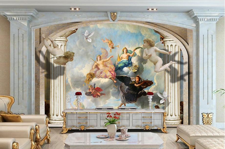 popular roman wall murals buy cheap roman wall murals lots top roman wallpaper murals wallpapers