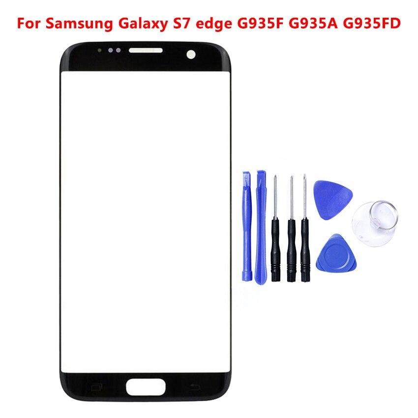 S7Edge Touchscreen Panel Für Samsung S7 Rand G935 G935F G935FD Touchscreen Sensor LCD Display Digitizer Glas Abdeckung Ersatz