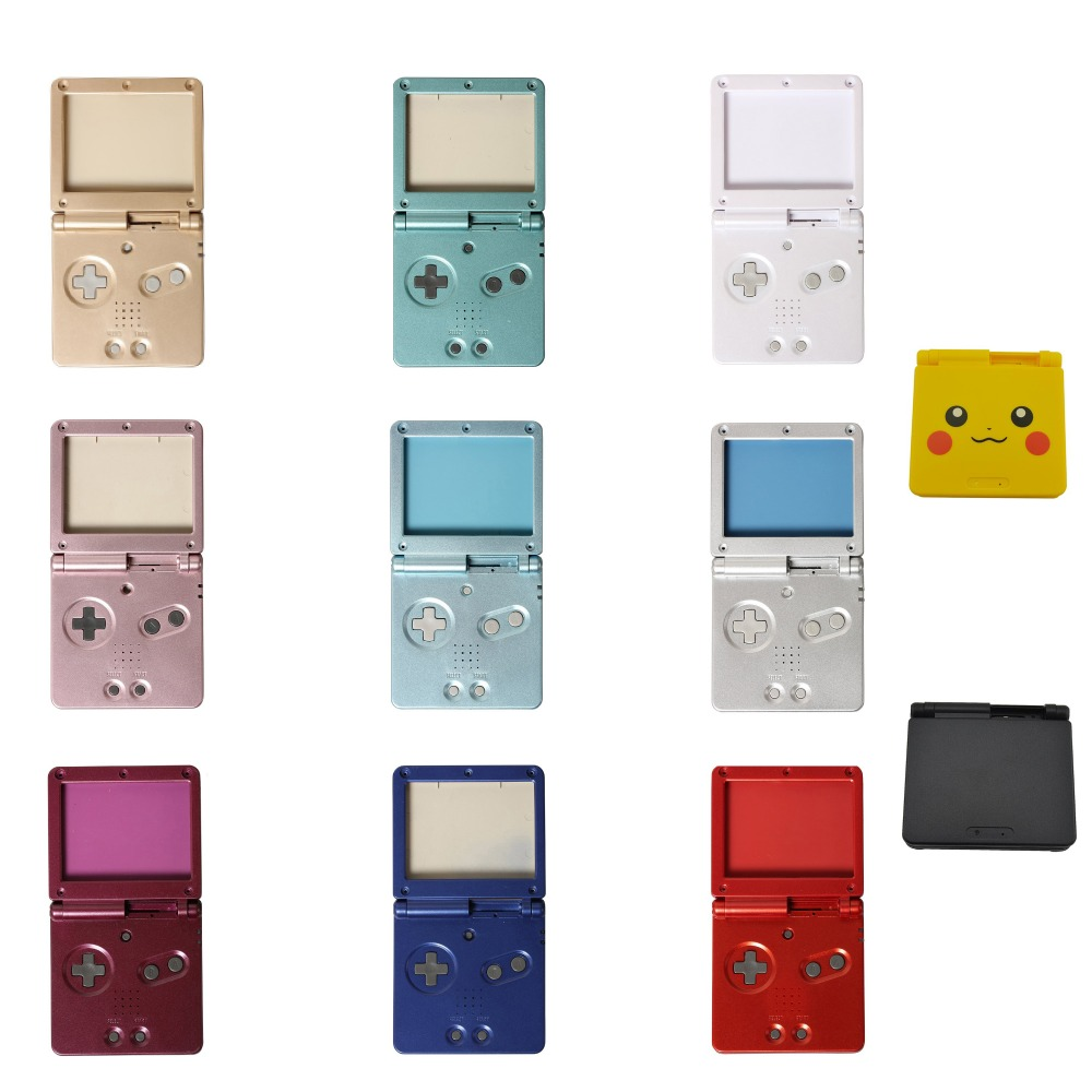 10sets For G B A SP For Game boy Housing Case Cover Replacement Full Shell For