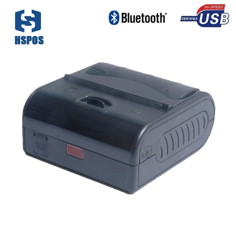 Thermal printer 80 mm android small bluetooth pos receipt printer MPT3 portable RS232 USB interface clamshell waterproof printer
