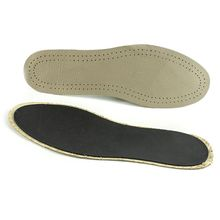 1 Pair Summer New Imitation Leather Insole Breathable Sweat Deodorant Shock Absorption Insoles For Men Women