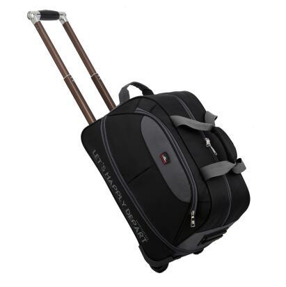 8d907a1bc4b5 Дорожные сумки на колесиках дорожные сумки колеса прокатки багажные сумки  для путешествий бизнес чемодан для мужчин женщин колесных сумки .