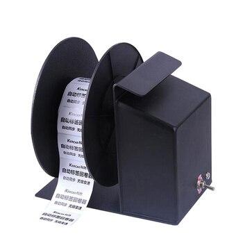 Corran kr800  Automatic Label Rewinder Clothing tags barcode Stickers rewinding machine volume  bar code printer label printer