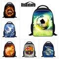 Dispalang marca mini bola padrão mochilas mochilas escolares crianças 3d para schoolbag crianças saco de livro do jardim de infância bebê mochila infantil