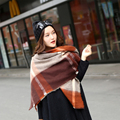 2015brand scarf women luxury winter  new scarves  Cashmere acrylic basic wrap gray shawls feminino roupas feminina