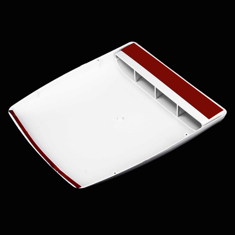 Декоративное Базовое покрытие на крышу, декоративная лопатка для забора воздуха, вентиляционное отверстие, капот, универсальные аксессуары, запасные части, ABS пластик