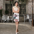 Chinese Style Silk Dress Women Chinese Traditional Dress Female Chinese Robe Sleeveless Qipao for Evening Party Cospley 18