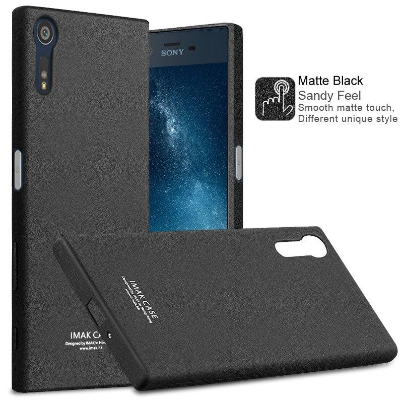 Imak Case sFor Sony Xperia XZ / Xperia XZs Shockproof Series Soft TPU Back Cover For Sony Xperia XZ F8332 / XZS G8232