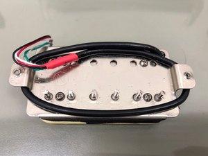 Image 5 - FLEOR Alnico 5 Humbucker Pickup Double Coil Electric Guitar Pickup Neck or Bridge Zebra Color