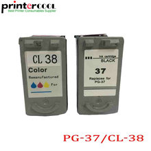 Einkshop PG-37 CL-38 Ink Cartridgep pg37 cl38 for Canon PIXMA MP140 MP190 MP210 MP220 MP420 IP1800 IP1900 IP2600 MX300 MX310