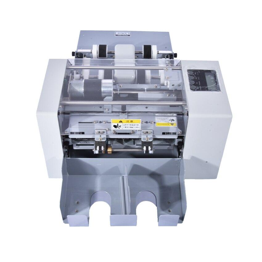A4 tamaño tarjeta de visita automática máquina de corte cortador multi-función eléctrica máquina de corte de papel, Perforadoras de papel ssa-001