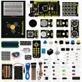 ¡ Nuevo! keyestudio actualizado hacedor starter kit de aprendizaje/starter kit para arduino con mega 2560 r3 + lcd + chasis + pdf