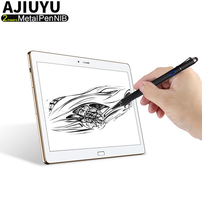 Active Pen Stylus High-precision Touch screen Chargeable Capacitive iOS Android Windows 10 Tablet Mobile phone Laptops Capacitor original capacitive coupling capacitor of