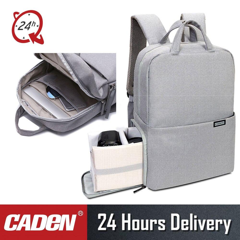 CADeN L5II Anti vol DSLR caméra sac à dos multifonction voyage extérieur étanche antichoc vidéos sac pour Canon Nikon-in Sacs pour appareil photo from Electronique    1