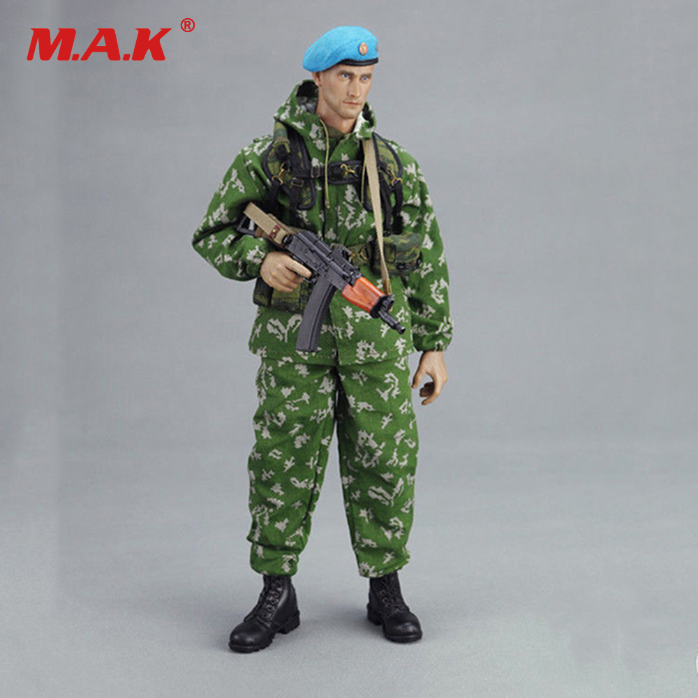 KGB-HOBBY KGB003 1/6 Russian VDV Scout Soldier Limited Clothing Weapon Models Equipment Set For 12 Inches Action Figures russian airborne vdv 1 6 female soldier action figure model set dam 78035 natalia