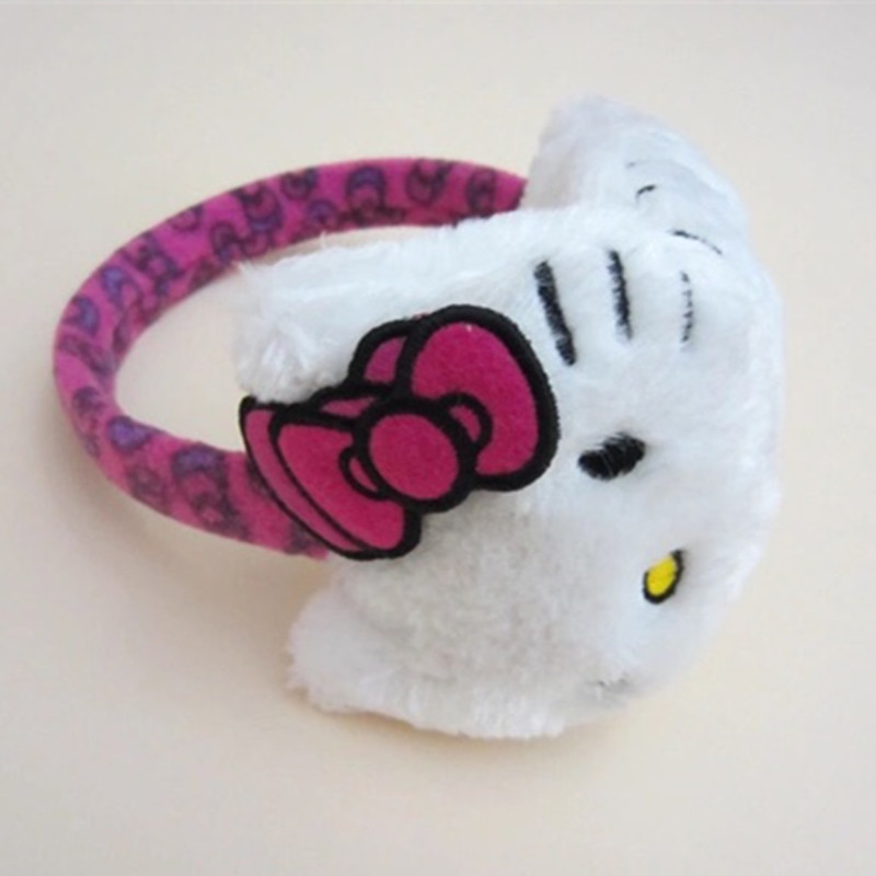 Hot Sale Cute Children Hello Kitty Earmuffs Thermal Plush Ear Muffs Ear  Protector Warm In Autumn Winter For Kids Girls In Earmuffs From Menu0027s  Clothing ...