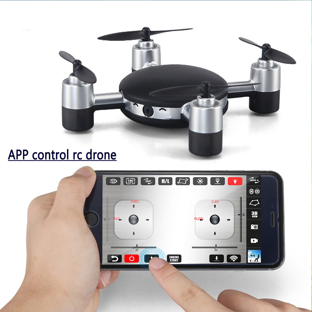 X916H Mini 2 4Ghz 4CH RC Quadcopter Helicopter APP Wifi Control font b Drone b font