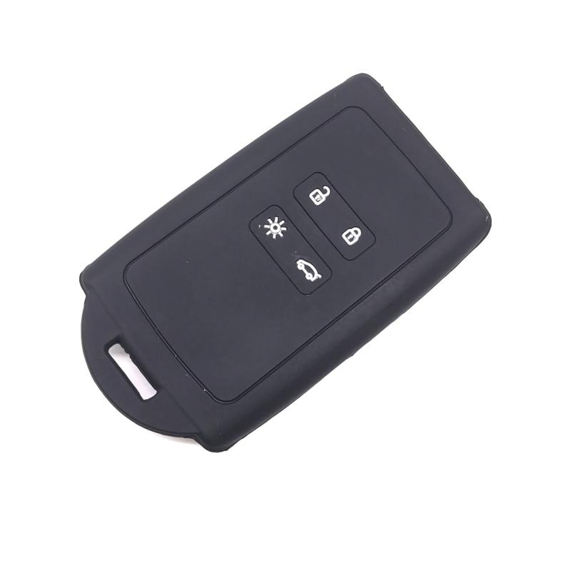 Peacekey Silicone Car Key Case Key Protection Cover For Renault Koleos Kadjar 2016 2017 Remote Holder