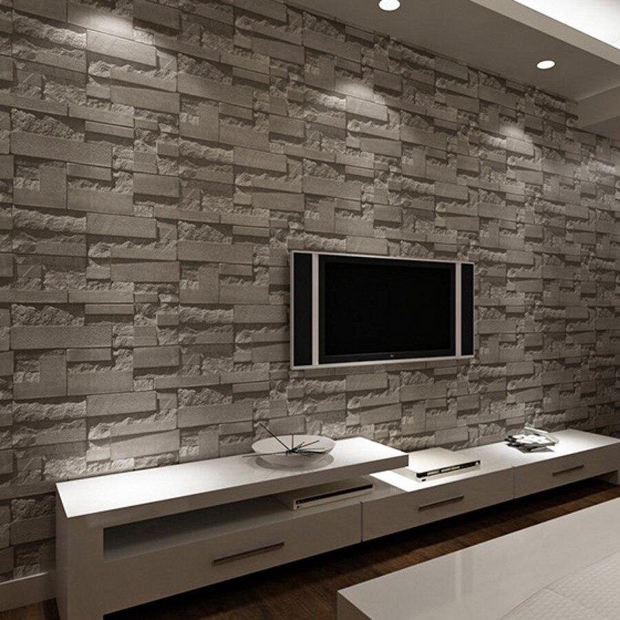 online kaufen großhandel wandbild tapete aus china wandbild tapete ... - Wohnzimmer Steintapete