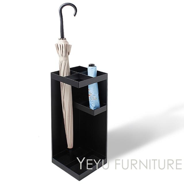 Superior Minimalist Modern Design Creative Floor Stand Metal Umbrella Rack Storage  Baskets Fashion Modern Home Furniture Umbrella