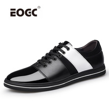 Купить с кэшбэком Classic Comfortable Men Casual Shoes Sneakers Quality Leather Men Shoes Light Weight Breathable Loafers Moccasins