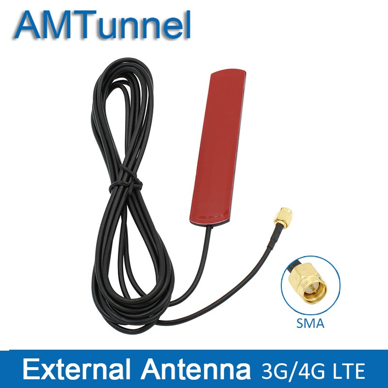 US $3 18 35% OFF|3G 4G antenna SMA male 4G LTE patch antenna 3M cable 4G  router antenna 3Dbi external antenna for Huawei router USB modem-in  Antennas